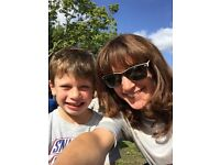 2 afternoons a week nanny required for lovely 7 year old boy (3pm - 7pm twice a week, days flexible)
