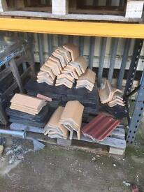 Clay roof ridge approx 50 used