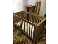 Portobello cot bed for sale with free delivery