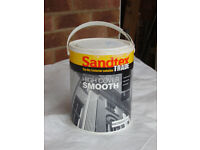 5 LITRE SANDTEX TRADE MASONRY PAINT - MAGNOLIA X 2 TINS