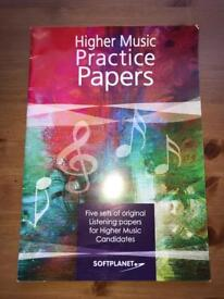 Higher Music Practice Papers Textbook