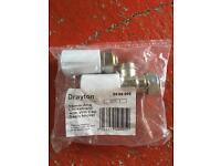 Drayton 15mm lock shield valves