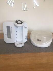 Tommee Tippee Perfect Prep Machine & microwave steam steriliser