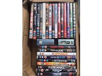 25 DVD's