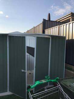 Garden shed new