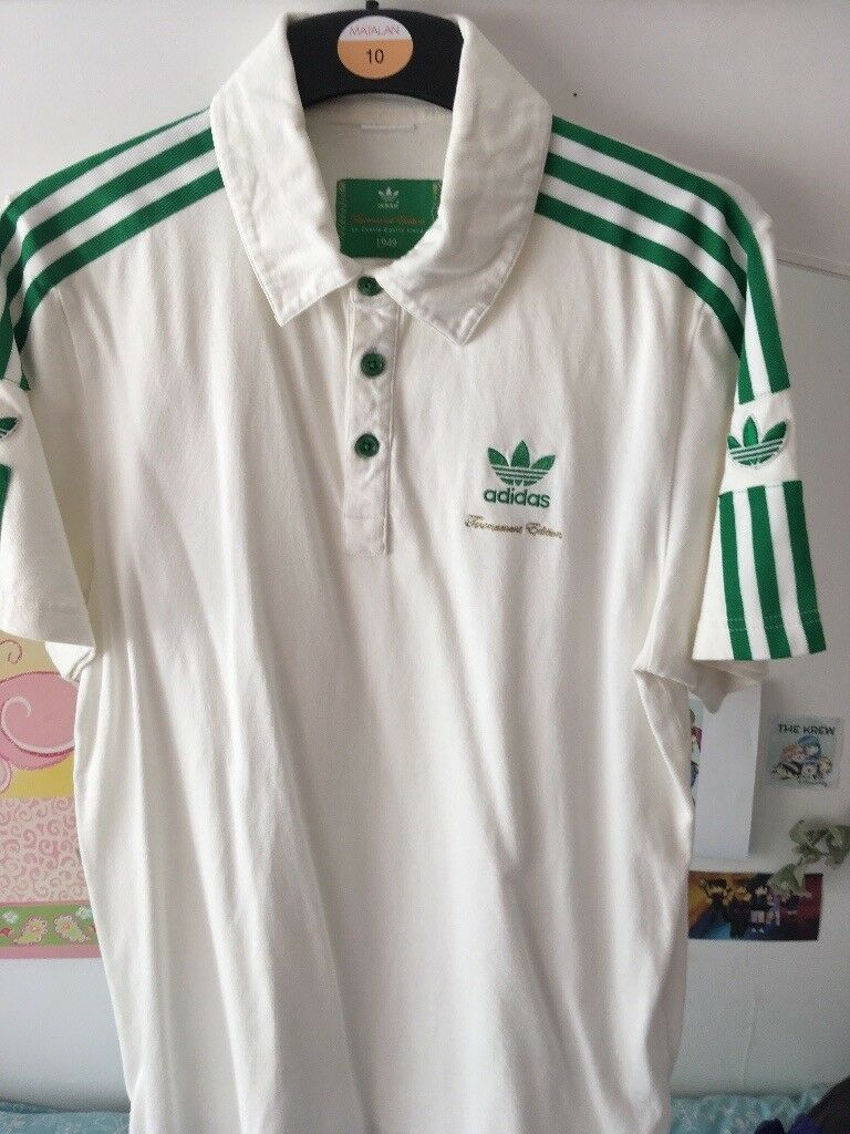 Adidas Wimbledon Retro Polo In Trafford Manchester Gumtree