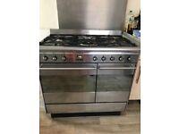 Smeg double oven range cooker