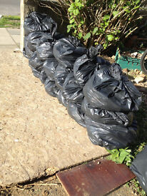 Soil Earth Topsoil bagged and Free in Surbiton.