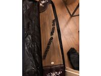 Guzheng, Chinese zither string instrument 100 pounds