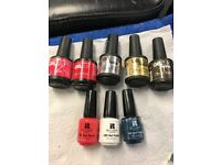 Gellux led gel lamp and polishes.