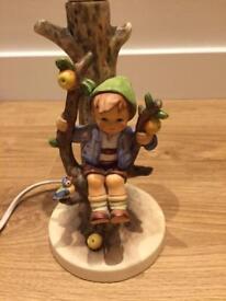 Hummel Lamp Apple Tree Boy with Shade
