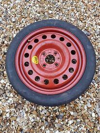 Space Saver spare wheel - saab 900/9000 4x108 pcd (ford, peugeot, citroen) ET35