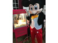 3hrs Unlimited Popcorn & Candyfloss with a uniformed attendant ONLY £100