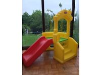 Little Tikes Climb-N-Slide Playhouse - excellent condition, never been outside