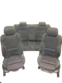 Bmw 3 Series Msport Cloth and Alacantra Seats 2004 Plate