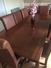 Solid Wood Dining Furniture