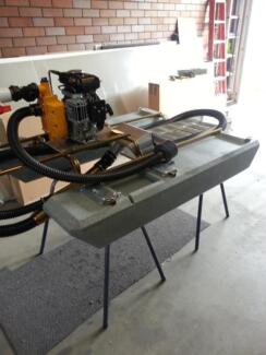 """2"""" floating Dredge Sluice Gold & Gem recovery"""