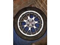 Set of 6 Rover MG Alloy Wheels