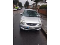Honda civic 1.7tdi car