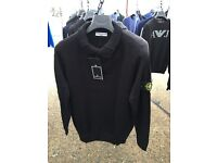 STONE ISLAND mens knitted jumpers wholesale joblot bulk