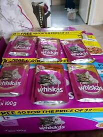 Whiskers cat food