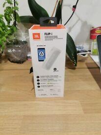 Unopened JBL Flip 4 Wireless Waterproof Speaker - Black