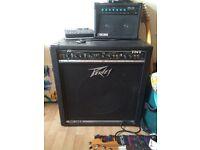 Peavey TNT 115s w/ Sheffield speaker bass amplifier