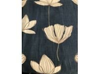 John Lewis Gingko Lined Curtains 96w x 80d