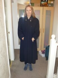 Vintage Mansfield Wool and Cashmere Maxi Coat