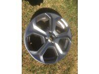 Fiesta st alloy wheel slightly marked on rim but is straight £65.00