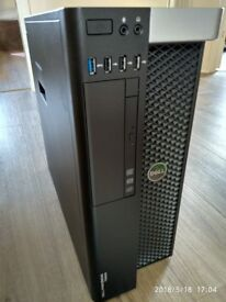 Powerful Design CAD/Gaming T5600 Workstation 2x E5-2660 Six Core 32GB RAM 120GB SSD 1TB SAS HDD
