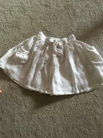 Girls jasper conran skirt age 6