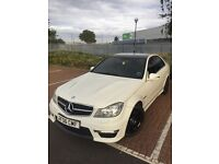 MERCEDES BENZ C63 real amg body alloys conversion (c220 diesel amazing car low mileage!!!!!!!!