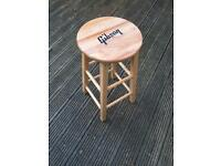 Gibson guitar bar stool