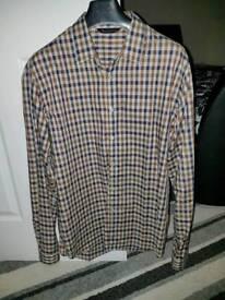 Aquascutum house check shirt