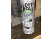 2 large rolls of insulation
