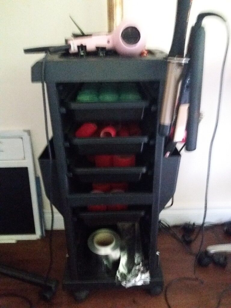 Various salon equipment and accessories