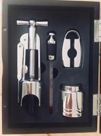 🔸 NEW 🔸 Wine bottle corkscrew / opener set