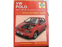 Haynes vw polo manual 1994 to 1999