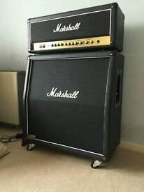 Marshall dsl 100h and Marshall 1960av cab