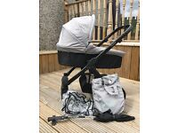 Oyster /Britax Travel System including isofix base