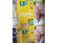 Mamia size 2 nappies