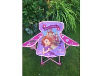 Toddler camping chair x2