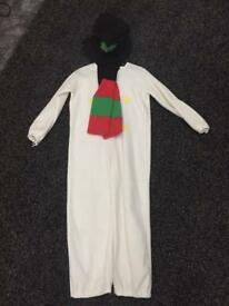 Snowman Costume size 6-8