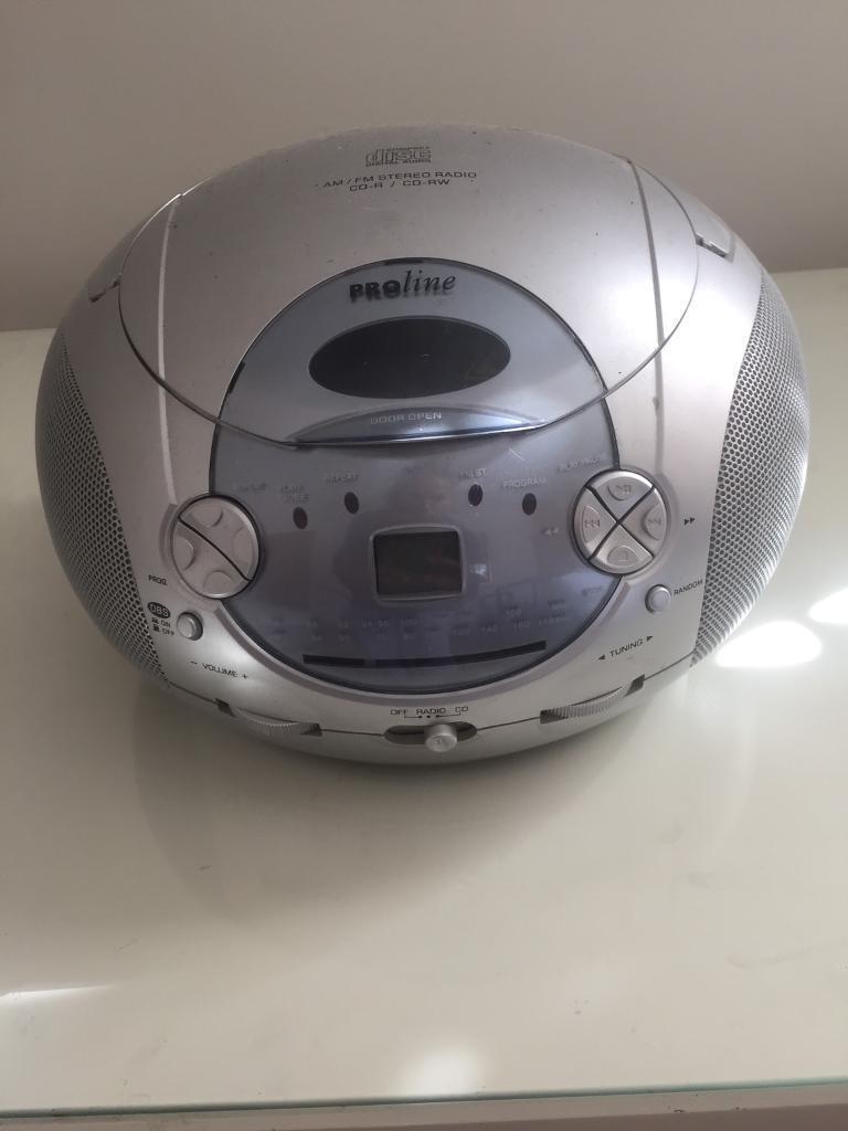 Stereo Radio - CD machine Audio