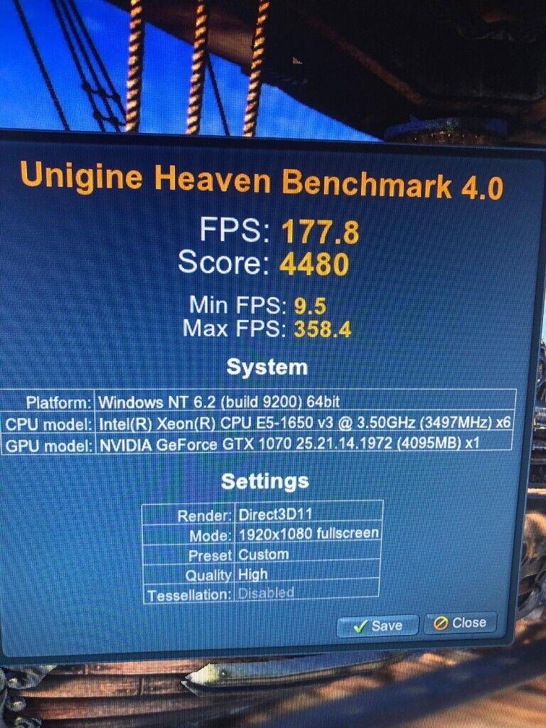 MSI GTX 1070 ARMOR 8GB Graphics Card High ultra gaming fortnite apex nvidia  1080 1440p 4k 144 fps OC   in Biggleswade, Bedfordshire   Gumtree