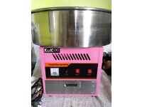 KuKoo Commercial Candy Floss Machine with LOTS of extra items! Ready made business!