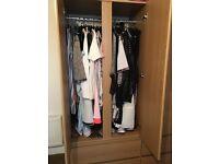 2 door, 2 drawer wardrobe