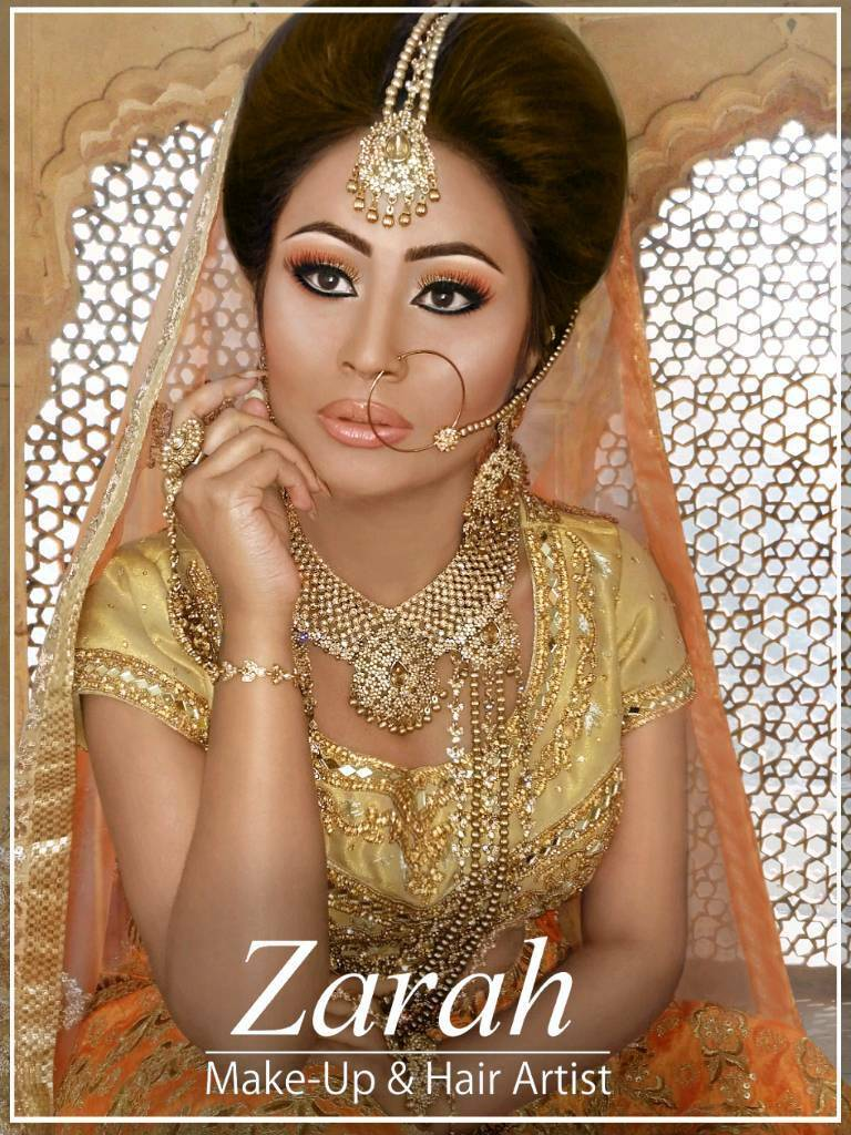 Asian Bridal Makeup Artist Hair Stylist Qualified MUA Available For Weddings Parties