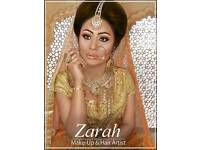 *Asian Bridal makeup artist and hair stylist. Qualified MUA. Birmingham. Available for Parties/Proms